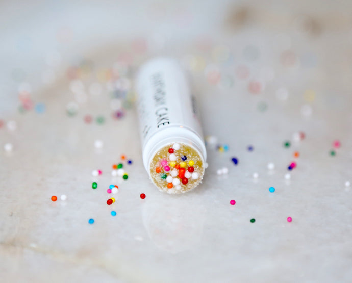 Birthday Cake Lip Scrub