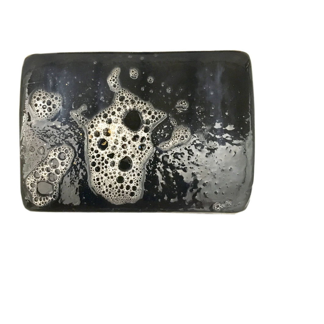 Hinoki Soap--Activated Charcoal Soap