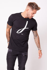 JENÉR Signature T-Shirt Black