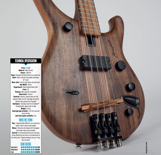 Bass Guitar Magazine Review: M1-4C