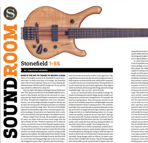 Bass Player Magazine Review: M1-5S Fretless