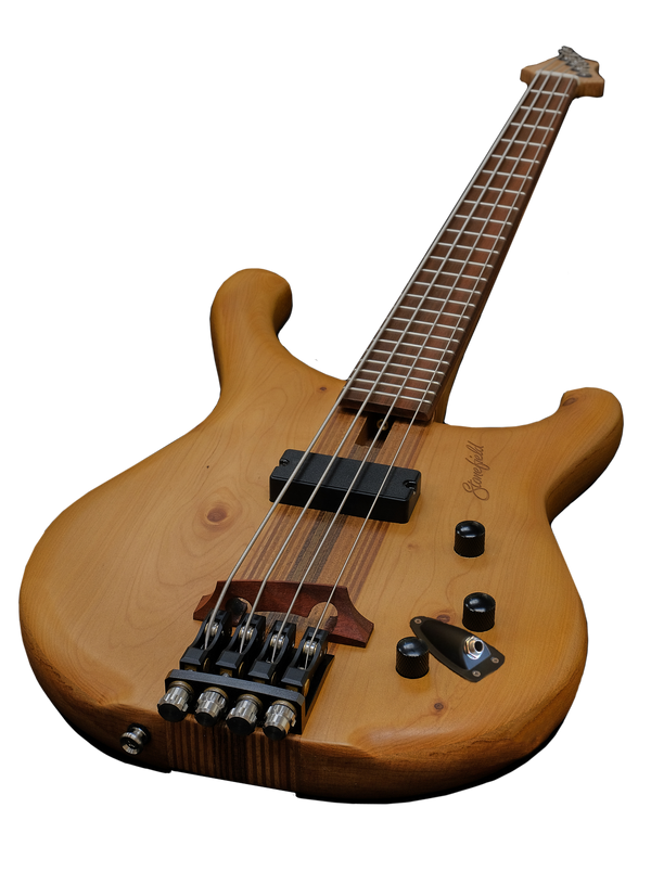 Stonefield C Series 4-String Electric Bass Guitar C1-4C Long Shot