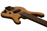 Stonefield C Series 5-String Bass Guitar C1-5S Low Angle Controls