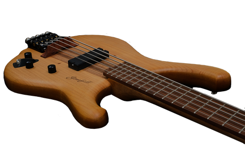 Stonefield Bass Guitar C Series 5-String C1-5S Low Angle Controls