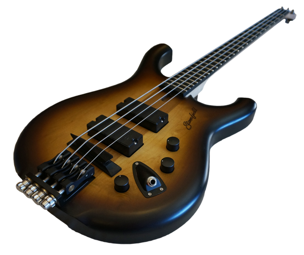 Stonefield Bass Guitar G Series Carmelburst Control View