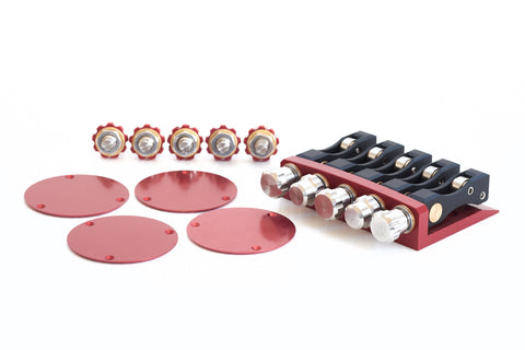 Stonefield Bass Guitar Tomm Stanley™ Tuning System Red 5-String