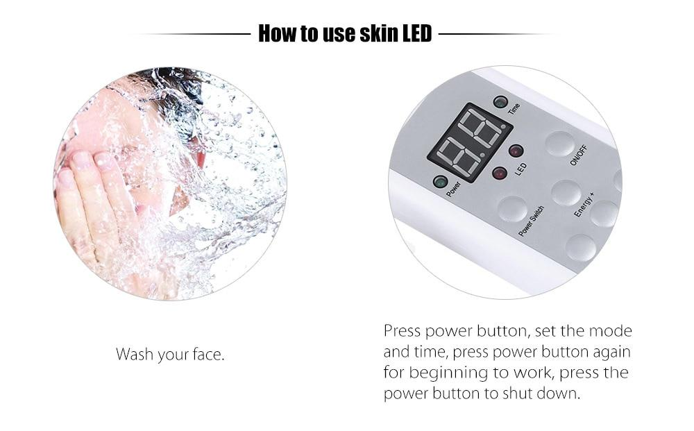 7 Color Photon LED Light Therapy