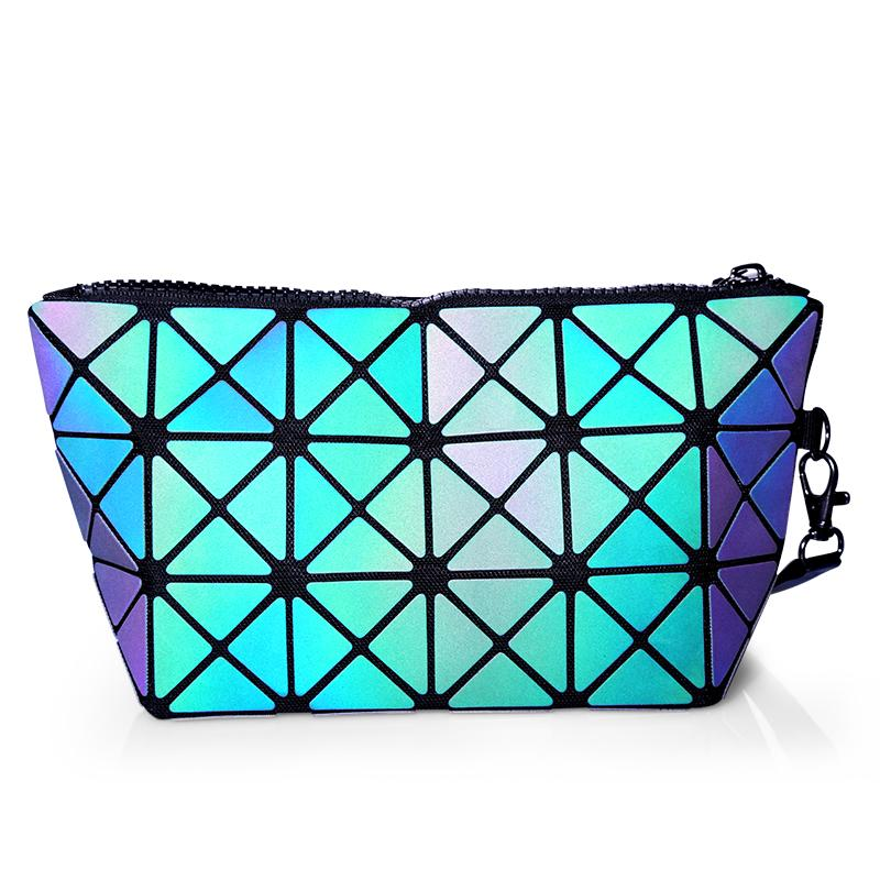 Oil Slick Refective Make Up Bag