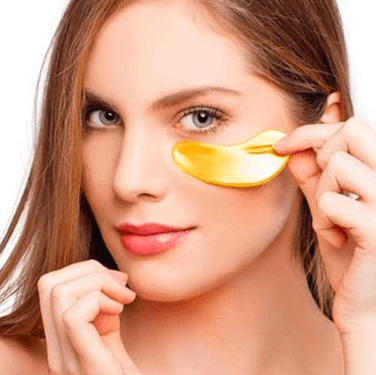 Gold Crystal Gel Mask Collagen Dark Circles Eye Mask