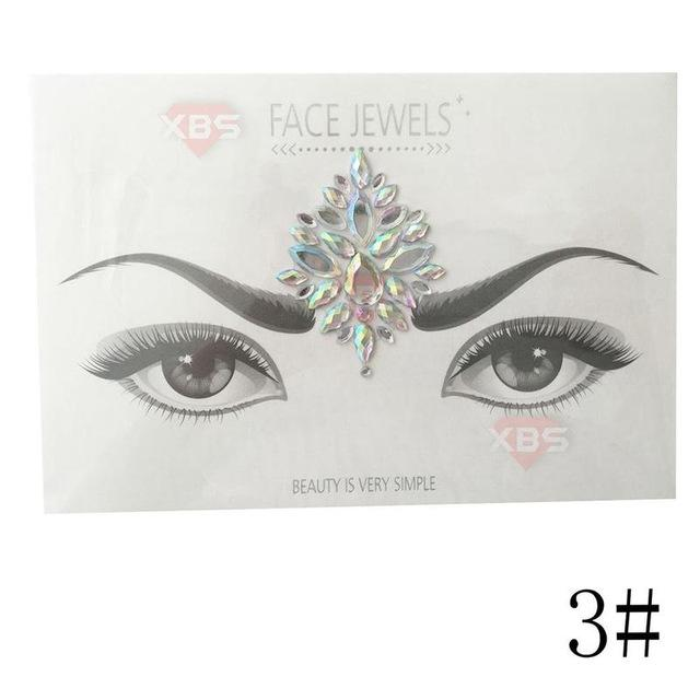Face Gems and Jewels