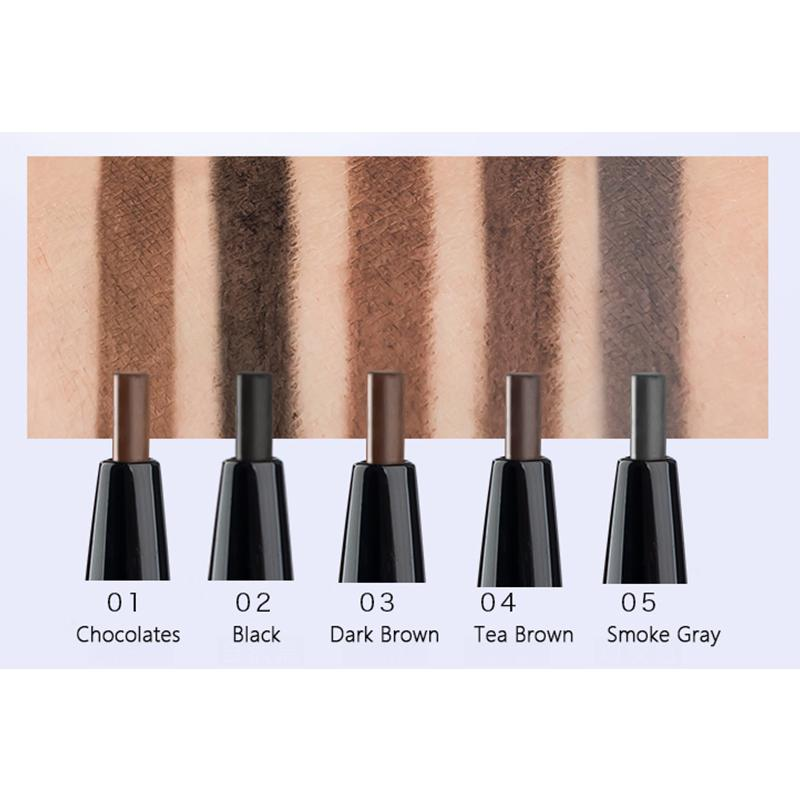 Smudge proof Eyebrow Pencil With Brush