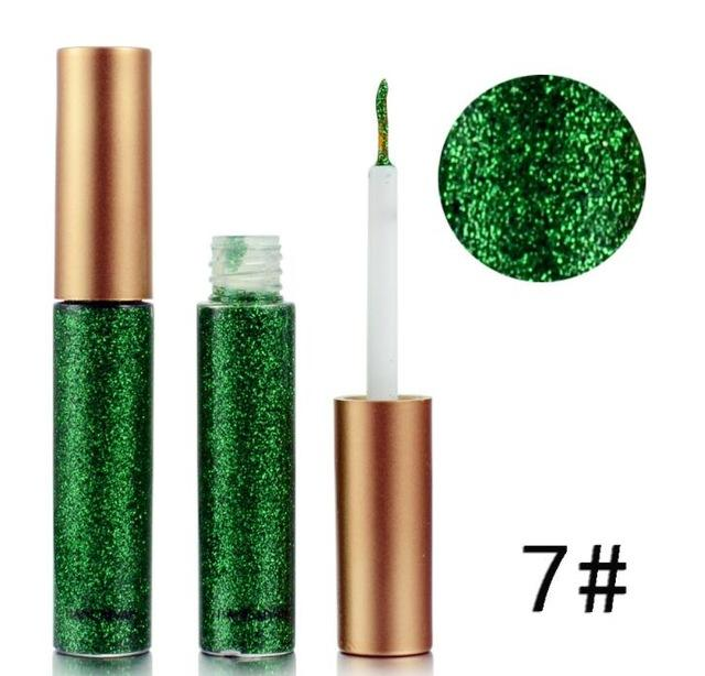 Long Lasting Waterproof Liquid Glitter Eyeliner