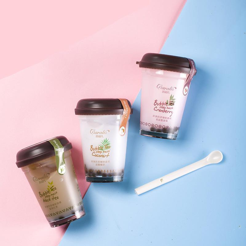 Coconut Milk Bubble Tea Super Hydrating Jelly Face Mask