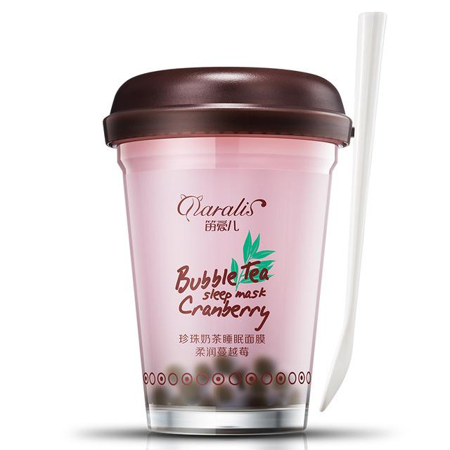 Cranberry Bubble Tea Super Hydrating Jelly Face Mask