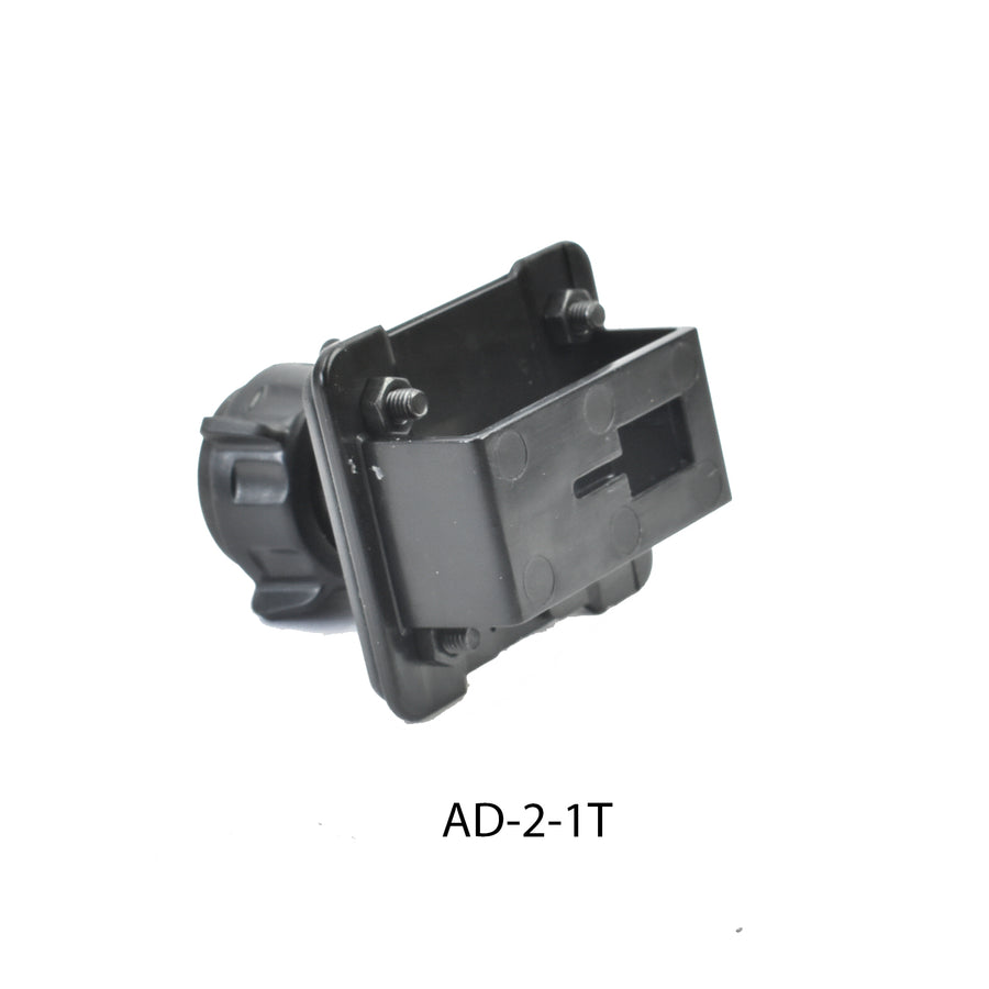 AD-2-1T Adapter plate for Icom IC-706,IC-7000,IC-7100,IC-880,IC-2820 Single T Mounts