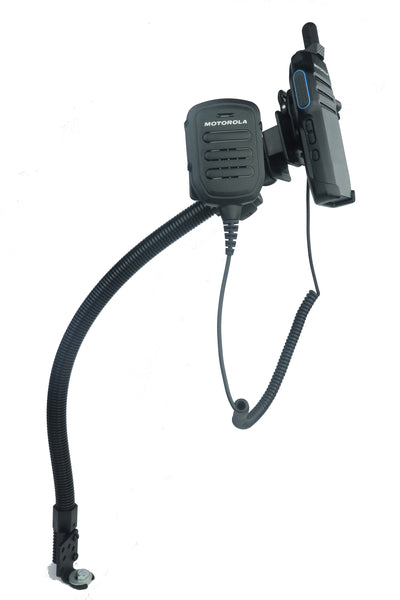 LM-300-1001 Seat Bolt Mount With Microphone Holder For All Portables