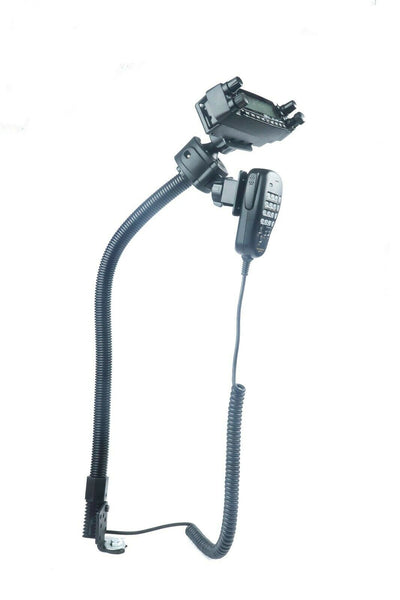 LM-300-1001 Seat Bolt Mount With Microphone Hanger For TYT TH-7800 TH-9800