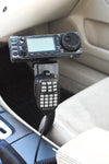 LM-300-1000EXP Seat Bolt Mount With Microphone Holder For All Transceivers