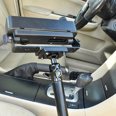 LM-300HD Seat Rail Mount For Remote Heads
