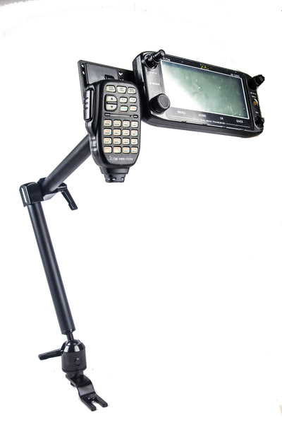 LM-300HD-EXT Low Vibration Mount With Mic Holder For Icom ID-5100 and IC-2730