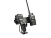 LM-500DB-EXT-02 Base Heavy Duty Drill Base Mount With HT Speaker Mic Holder For Any HT and Speaker Mic