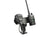 LM-500-Base Heavy Duty Drill Base Mount With HT Speaker Mic Holder For Any HT and Speaker Mic