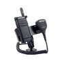Fleet Vehicle Mount With Speaker Mic Holder for the Motorola Wave TLK100