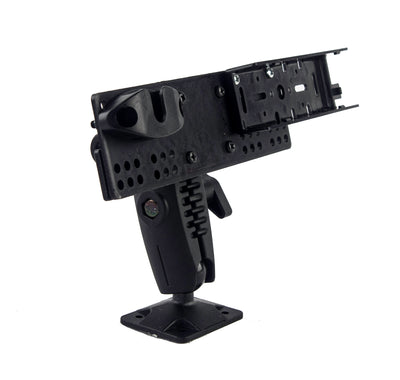 "LM-500-EXT HEAVY DUTY RAM 1"" BALL STYLE DRILL BASE MOUNT WITH MIC HOLDER FOR YAESU FT-857 FT-7800 FT-7900 FT-8800 FT-8900"
