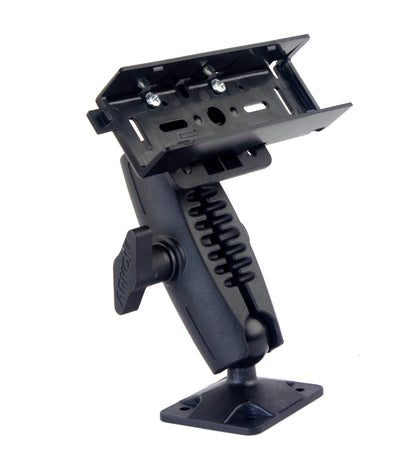 "LM-500  Heavy Duty Ram 1"" Ball Style Drill Base Mount with 4 hole amps plate For Yaesu FT-857 FT-7800 FT-7900 FT-8800 FT-8900"