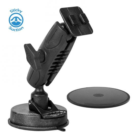 "LM-500 Suction Cup Mount 1"" Ball Ram Style"