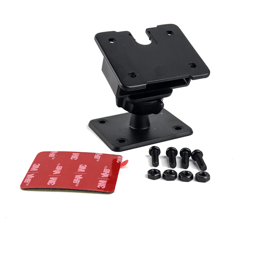 LM-1202 3m adhesive mic holder for TYT Yaesu Mics and HT's with belt clip