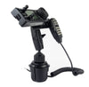 LM-802-EXT Heavy Duty Cup Holder Mount With Microphone Hanger For Icom IC-706 IC-7000 IC-7100 IC-2820 ID-880 ID-4100