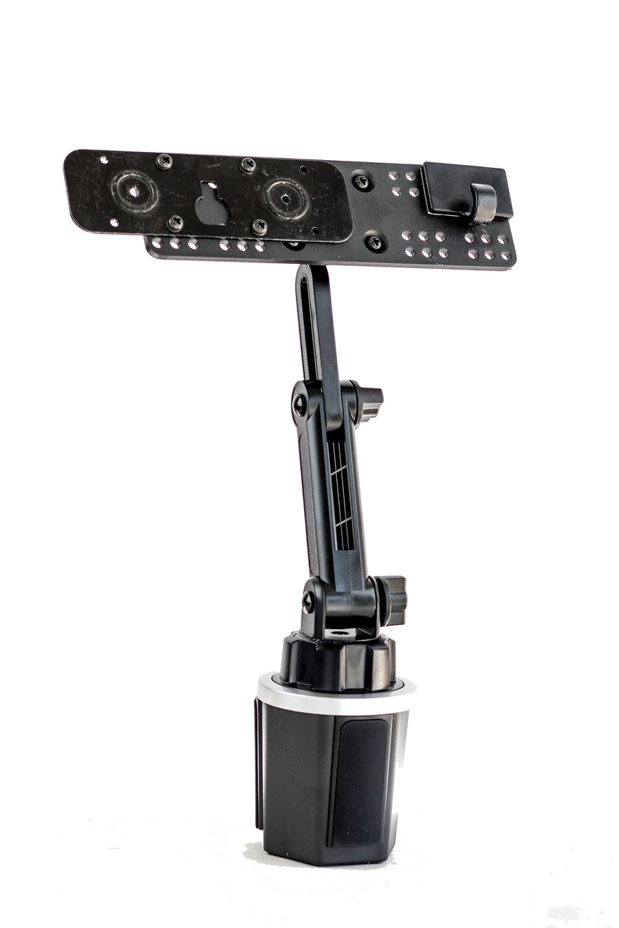LM-803-EXT Adjustable Cup Holder Mount With Mic Holder For ID-5100 IC-2730