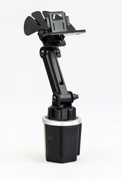 Cup Holder Mount With Variable Height Control For The Kenwood TM-D710 TM-D700 TM-V71A