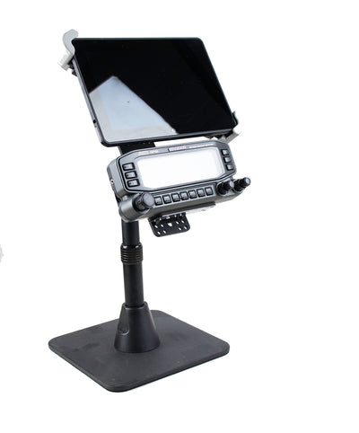 APRS Base Mount With Tablet Holder For Kenwood TM-D710 TM-D700 TM-V71A TS-480