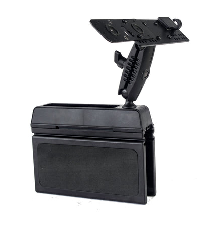 LM-Wedge-EXT Wedge Mount With Mic Holder For Icom ID-5100 And IC-2730