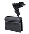 LM-Wedge-EXT Car Seat Console Wedge Mount With Microphone Holder For The Yaesu FT-857 FT-7800 FT-7900 FT-8800 FT-8900