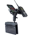 LM-WEDGE CAR SEAT CONSOLE WEDGE MOUNT WITH SMART-PHONE HOLDER FOR UNIDEN SDS100 BCD436HP