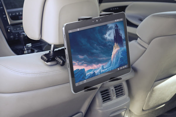 Universal Tablet Mount - Rear Back Seat Headrest Holder