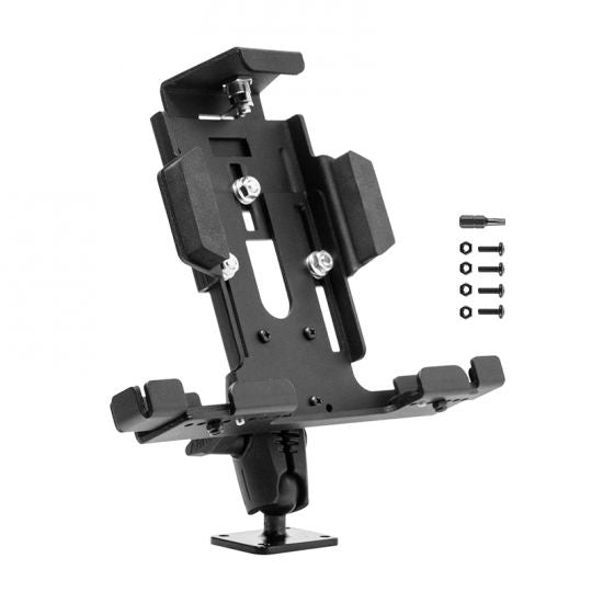 Aluminum Locking Tablet Mount with Key Lock for Galaxy Tab, LG G Pad, iPad
