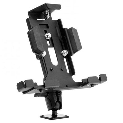 Adjustable Aluminum Key Lock Tablet Mount with Key Lock for Galaxy Tab, LG G Pad, iPad