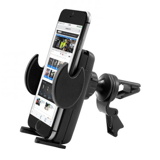 Mega Grip Air Vent Phone Car Holder Mount for iPhone 7, 6S, 6 Plus, 7, 6S, 6, Galaxy Note 5, S7, S6