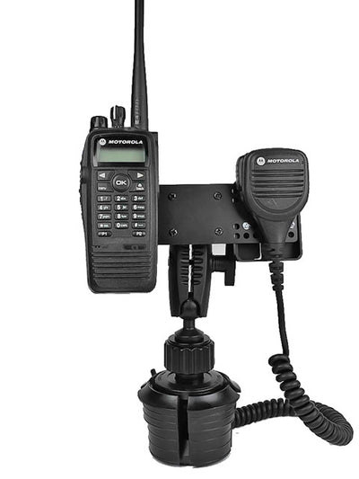 LM-802-EXT Cup Holder Mount With Microphone Holder