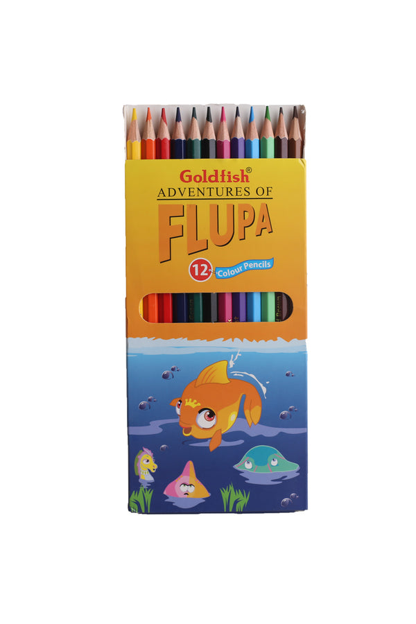 Goldfish Color Pencils 12 Pcs Box Pack
