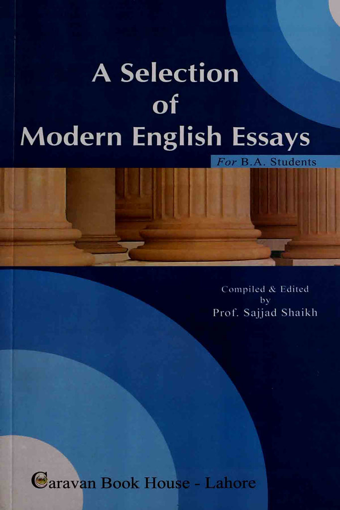 a selection of modern english essays ba text book