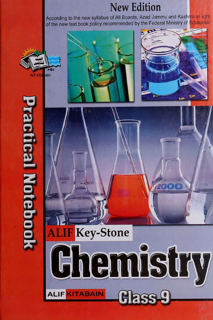 Alif Key-Stone Chemistry Practical Notebook Class 9 English Medium