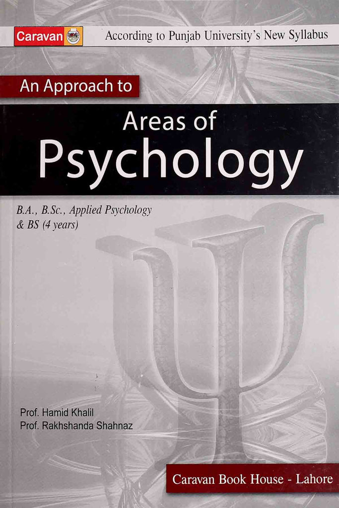 Areas Of Psychology BA BSC BS (4 Years)
