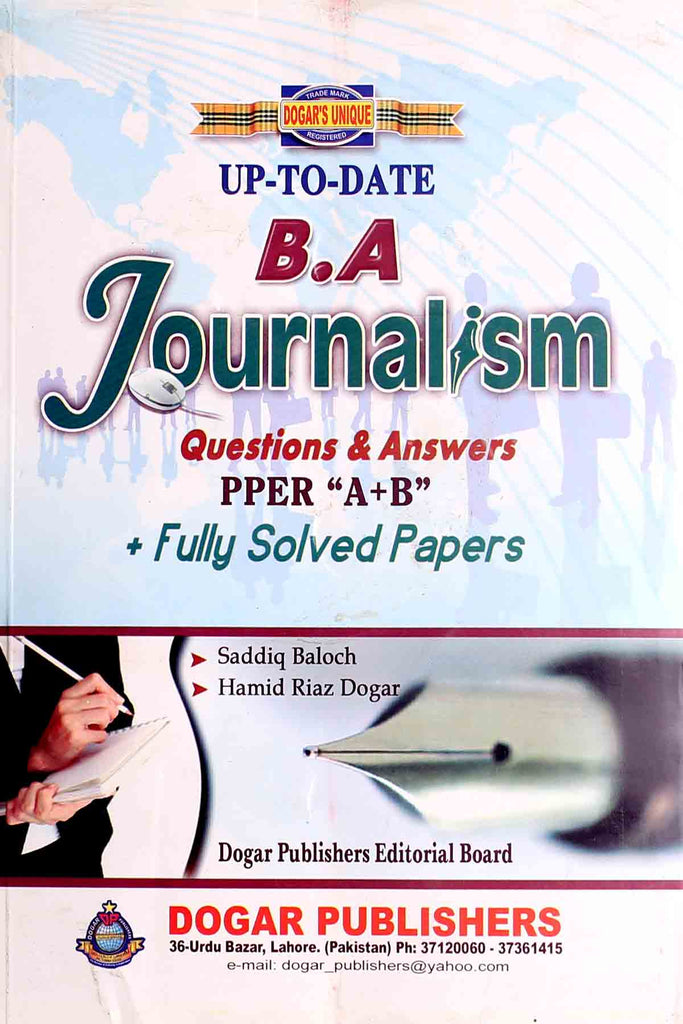 BA-Journalism-(Up to Date)-Key Book