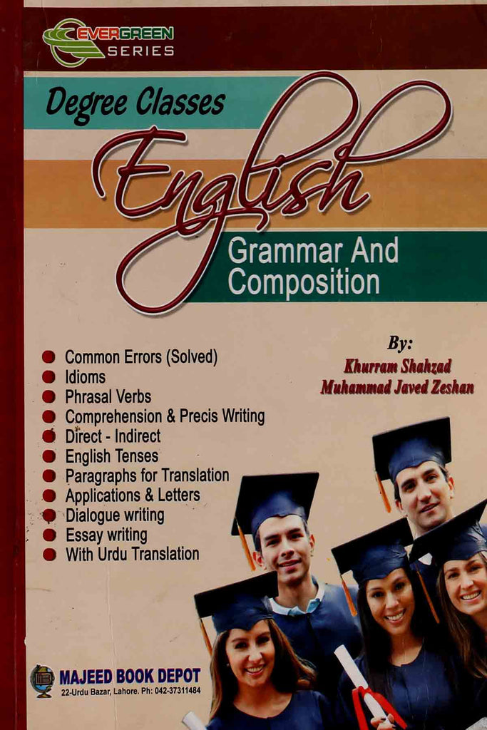 English Grammar & Composition BA (3rd & 4th year)