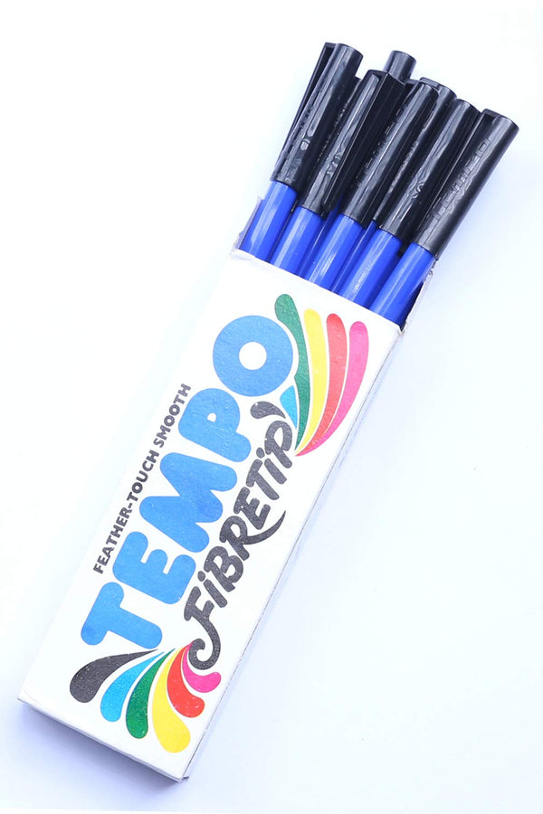 Fibre Tip Marker Tempo ( Pack of 10 Markers)